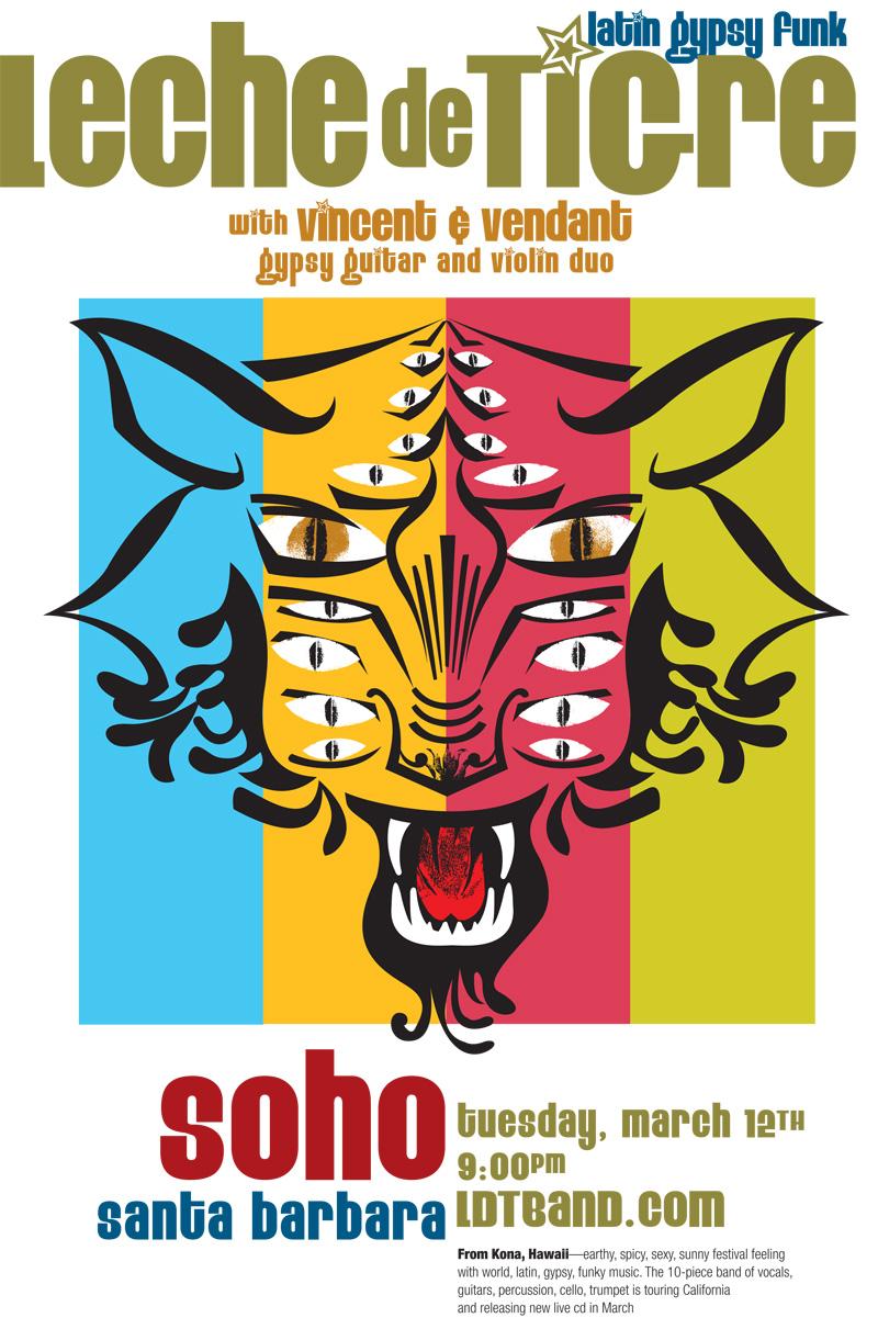 Leche De Tigre – March 12th, SOhO – Santa Barbara – Vincent & Vedant